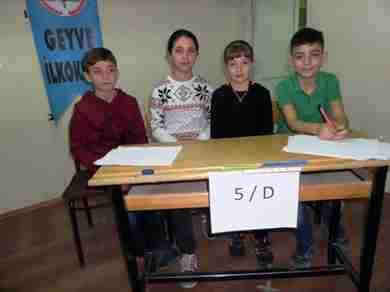 Geyve Ortaokulu Bilgi Yarışması