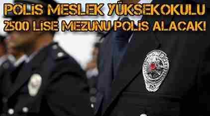 Lise Mezunu Polis Alınacak
